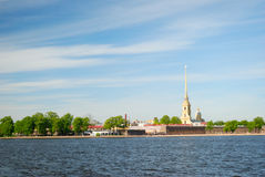 Peter and paul cathedral, saint-petersburg Royalty Free Stock Photos