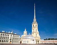 Peter and Paul Cathedral, Saint Petersburg Stock Photos