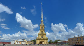 Peter and Paul Cathedral in Saint Petersburg Royalty Free Stock Photo