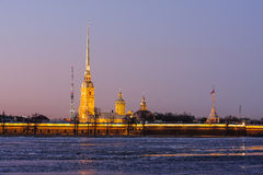 Peter and Paul Cathedral Royalty Free Stock Images