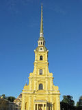Peter and Paul Cathedral in Saint Petersburg. Russia. Landmark. Tourist attraction. Historic monument. Architectural monument. Monument of architecture Royalty Free Stock Photos