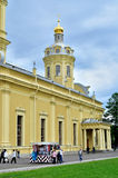 Peter and Paul Cathedral in Saint Petersburg, Russia Royalty Free Stock Images