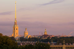 Peter and Paul Cathedral, St Petersburg Royalty Free Stock Photos