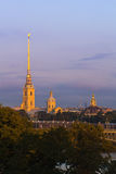 Peter and Paul Cathedral, St Petersburg Stock Photos