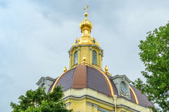 Peter and Paul Cathedral in St. Petersburg Stock Image