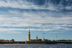 Peter and Paul Cathedral, St. Petersburg, Russia Royalty Free Stock Photography