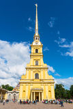 Peter and Paul Cathedral in St. Petersburg, Russia Royalty Free Stock Photos