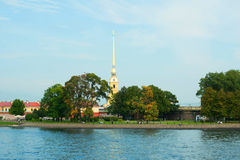 Peter and Paul Cathedral in St. Petersburg Royalty Free Stock Photos
