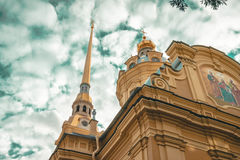 Peter and Paul cathedral Stock Image