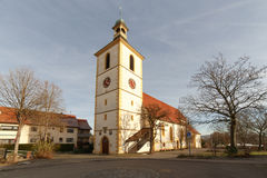 Peter and Paul Church Koengen Royalty Free Stock Images
