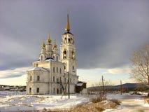 Peter and Paul Church in Severouralsk. Sverdlovsk region. Russia. Stock Photography