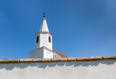 Peter and Paul Church in the village Pac, Slovakia Stock Photography