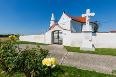 Peter and Paul Church in the village Pac, Slovakia. Romanesque church of St. Peter and Paul from the 13th century in the village Pac, Slovakia Royalty Free Stock Images