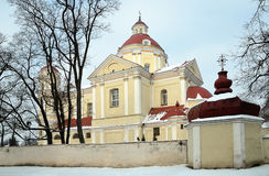 Peter and Paul church in Vilnius Royalty Free Stock Photos