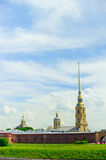 The Peter and Paul Fortress Royalty Free Stock Photos
