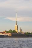 Peter and Paul Fortress Royalty Free Stock Image