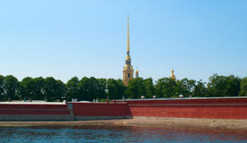 Peter and Paul Fortress Stock Image
