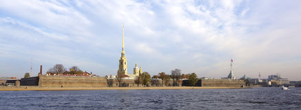 Peter and Paul Fortress Royalty Free Stock Photography