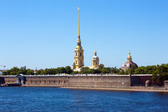 The Peter and Paul Fortress Royalty Free Stock Image