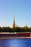 The Peter And Paul Fortress Royalty Free Stock Photography