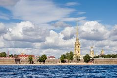 Peter and Paul Fortress Stock Photos