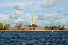 The Peter and Paul Fortress Stock Photography