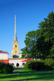 Peter and Paul Fortress. Royalty Free Stock Image