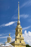 Peter and Paul fortress. In Saint-Petersburg Royalty Free Stock Images