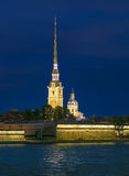 Peter and Paul Fortress and Cathedral Royalty Free Stock Image