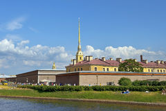 Peter and Paul Fortress and Cathedral Royalty Free Stock Photos