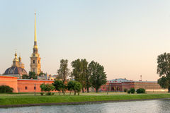 Peter and Paul fortress Stock Photography