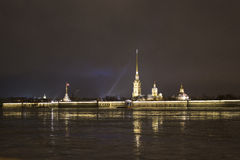 Peter and Paul Fortress Royalty Free Stock Photos