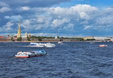 Peter&Paul fortress Stock Photography