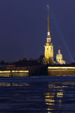The Peter and Paul fortress. Stock Image
