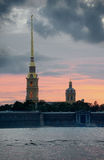 Peter and Paul fortress Royalty Free Stock Images