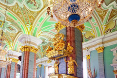 Peter and Paul Fortress. Interior. Royalty Free Stock Photos