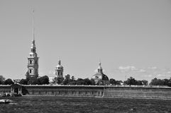 Peter and Paul Fortress. Stock Images