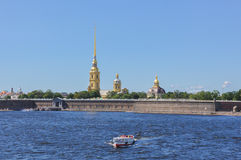Peter and Paul Fortress. Stock Photography