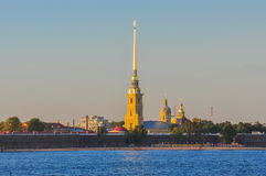 Peter and Paul Fortress. Royalty Free Stock Images