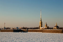 The Peter and Paul Fortress, Russia Royalty Free Stock Images