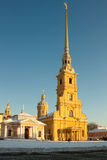 The Peter and Paul Fortress, Russia Royalty Free Stock Photography