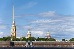 Peter and Paul Fortress.Russia. Petersburg. Stock Photography