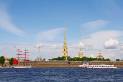 Peter and Paul fortress. Saint-Petersburg Stock Images