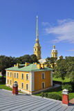 Peter and Paul Fortress in Saint-Petersburg Stock Photo