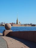 Peter and Paul Fortress, Saint Petersburg Royalty Free Stock Photo