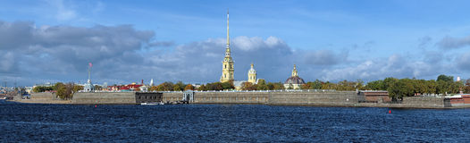 Peter and Paul Fortress in Saint Petersburg royalty free stock photography