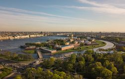 Peter and Paul Fortress in Saint-Petersburg Stock Image