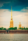 Peter and Paul fortress in Saint Petersburg Royalty Free Stock Images