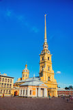 Peter and Paul fortress in Saint PEtersburg Stock Photography