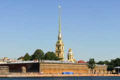 Peter and Paul Fortress - Saint-Petersburg, Russia Stock Photo